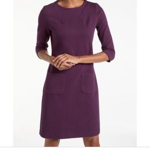 Boden Marisole Jacquard Dress with pockets 8L